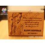 Personalized Wooden Photo Frame HD43003