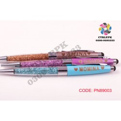 Color Crystal Pen Customize Your Name Printed on Pen PN89003
